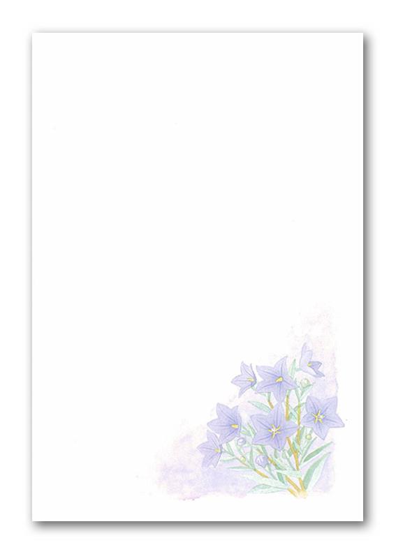 ナカバヤシ|喪中用はがき用紙 : ポストカード フリー : カード