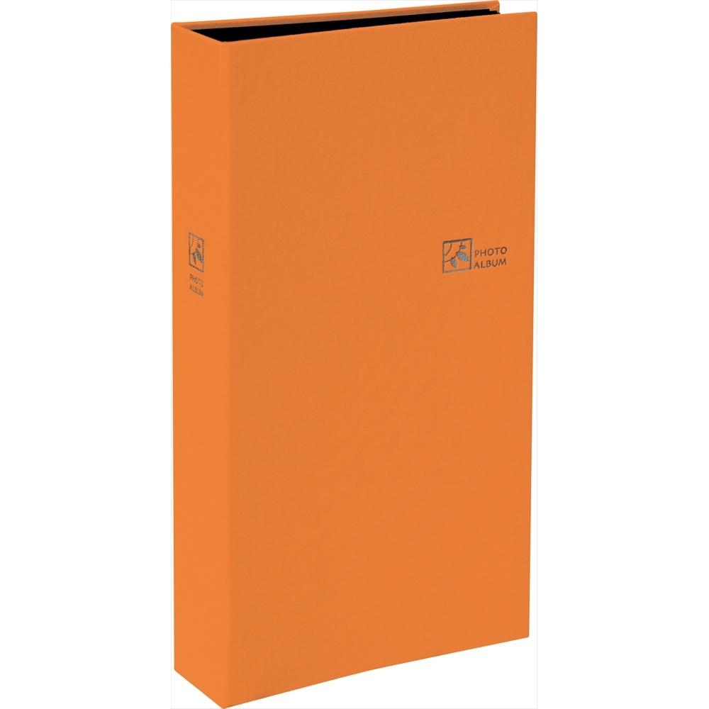 TCPK-L-240-RO                セラピーカラー ポケットアルバム L判3段240枚 オレンジ